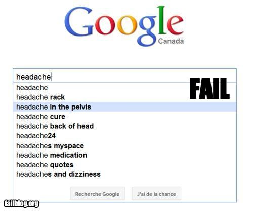 Autocomplete Me,failboat,g rated,medical advice,oh canada,wtf