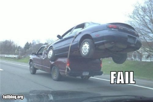 bad idea cars driving g rated towing - 4974766592