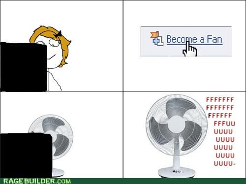 facebook fan literal Rage Comics - 4975086080