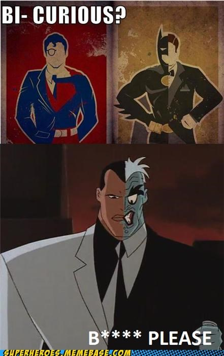 batman suits Super-Lols superman two face - 4975403776