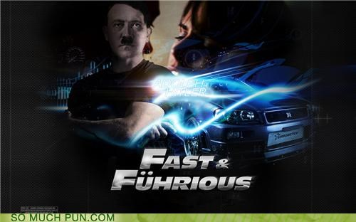 adolf hitler,franchise,fuhrer,Hall of Fame,hitler,literalism,similar sounding,the fast and the furious,vin diesel