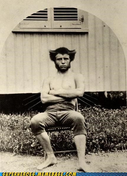 hair old timey Superhero IRL wolverine wtf - 4975625472