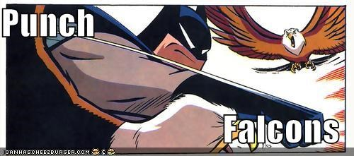 batman eagles falcons punch Super-Lols - 4975951616