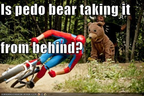 pedobear Spider-Man Super-Lols viking wtf - 4976002560