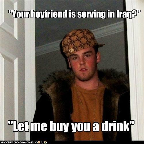 army boyfriend dating dear john drink girlfriend iraq letter Scumbag Steve - 4976016384
