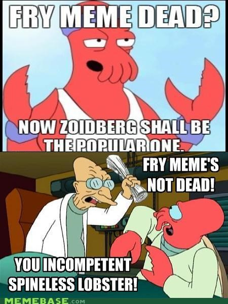 farnsworth,fry,futurama,lobster,Reframe,Zoidberg