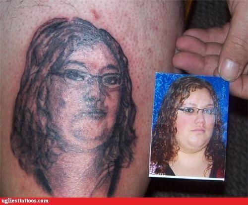 face portrait tribute woman - 4976296448