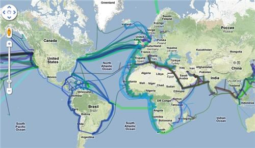 cables,internet,Maps,Tech