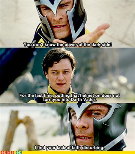 fassbender first class From the Movies Magneto professor x x men - 4976798720