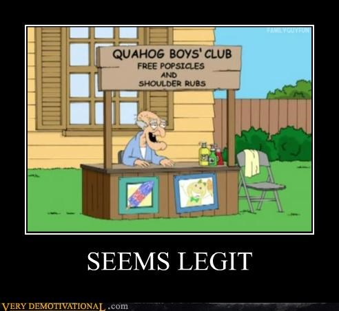 boys club cartoons family guy hilarious seems legit - 4976815872