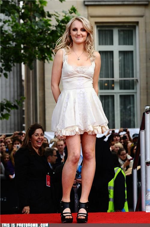 Celebrity Edition deathly hallows evanna lynch Harry Potter luna lovegood premiere