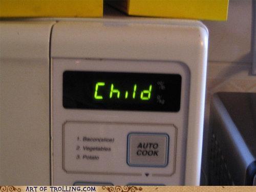 auto cook child IRL microwave - 4976933376