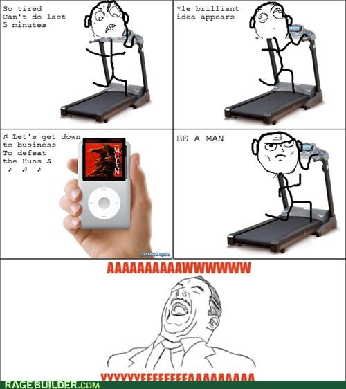 aww yeah,exercise,lyrics,mulan,Rage Comics