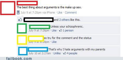 arguments,oh snap,witty reply