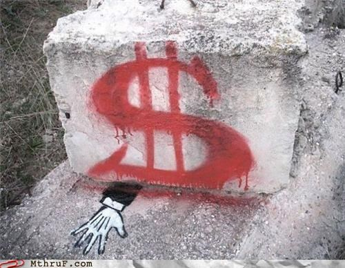 crushed graffiti Marxism money socialism - 4977394688