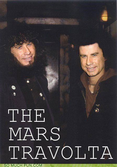 Hall of Fame,john travolta,juxtaposition,literalism,similar sounding,the mars volta