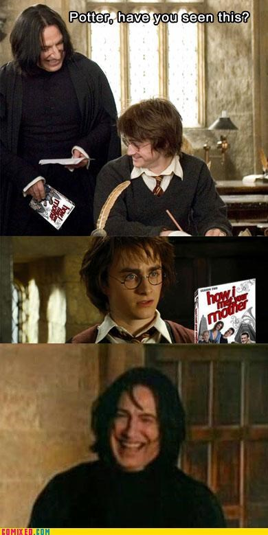 DVD Harry Potter how i met your mother snape