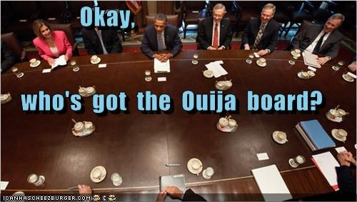 debt ceiling oujia board political pictures