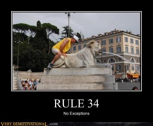 hilarious no exceptions Rule 34 statue - 4981158656