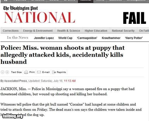 bad aim dogs family guns oops pets Probably bad News shooting - 4981299456