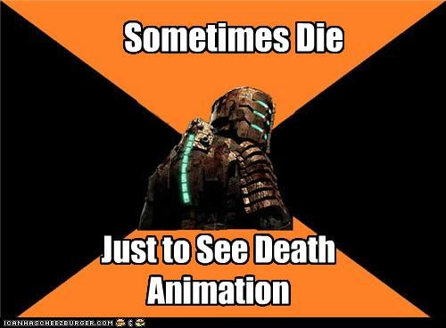 Sometimes Die Just to See Death Animation