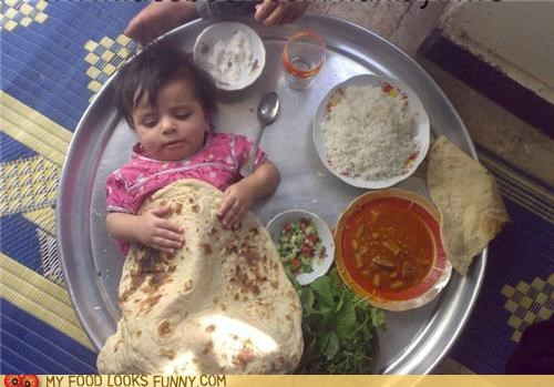 baby burrito cannibalism nap sleep tortilla