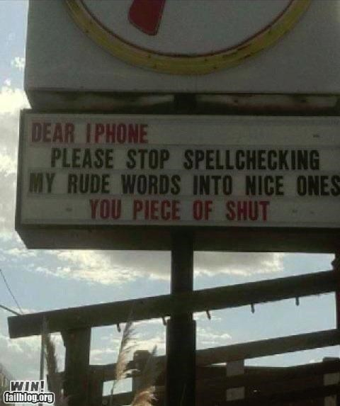 auto correct clever marquee mobile phones spelling - 4982415104