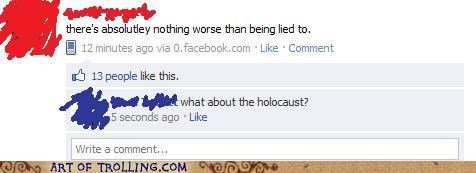 facebook FAIL holocaust lied worse - 4982477568