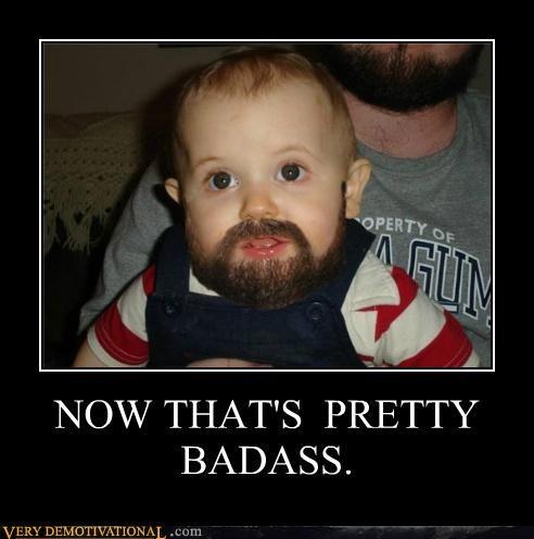 beard crazy kid Pure Awesome - 4982567936