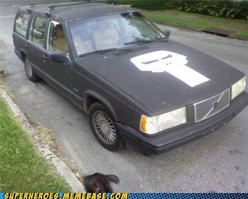awesome car paint job punisher Random Heroics - 4982636032