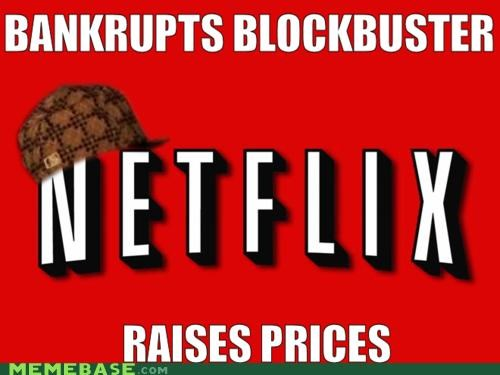 bankrupt blockbuster Memes netflix prices steve - 4983603968