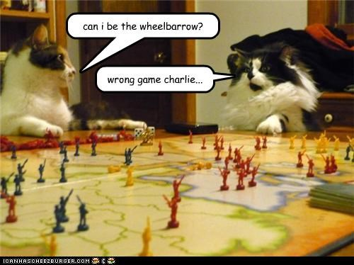 can i be the wheelbarrow? wrong game charlie...