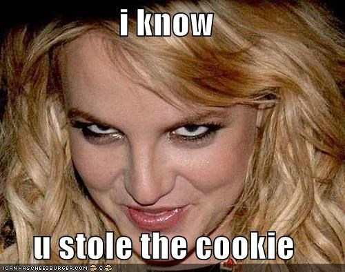 britney spears Celebriderp cookies that face - 4984218112