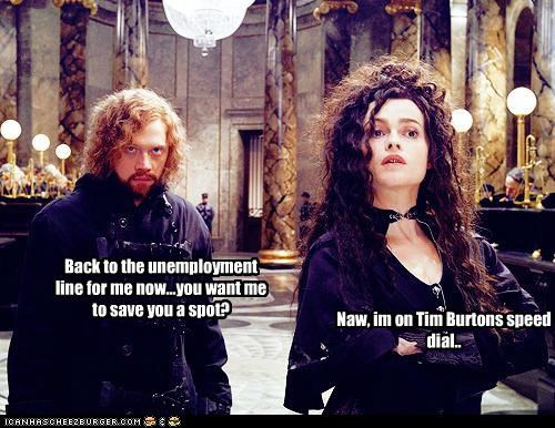 actor celeb funny Harry Potter helena bonham-carter rupert grint sci fi - 4984539136