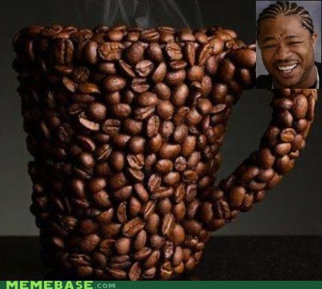 bean caffeine coffee drinks yo dawg - 4985204992