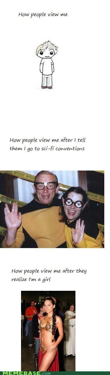 comic con girls How People View Me nerd sci fi - 4985237760