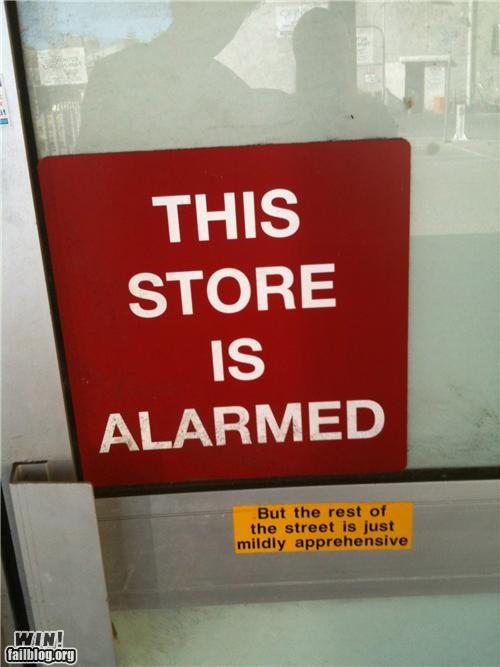 alarms clever signs - 4985392384