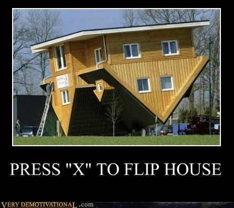 flip halo hilarious house press x video games