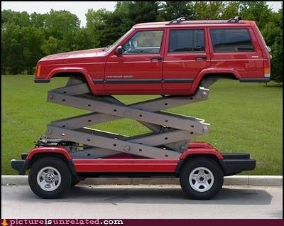 car lift tall wtf - 4985585664