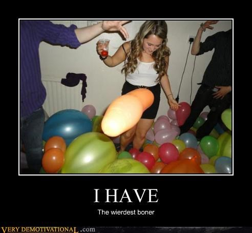 balloon boner hilarious no no tubes Party - 4985805568