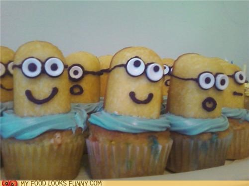 cupcakes,despicable me,minions,Movie,twinkies