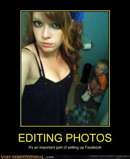 EDITING PHOTOS It's an important part of setting up Facebook