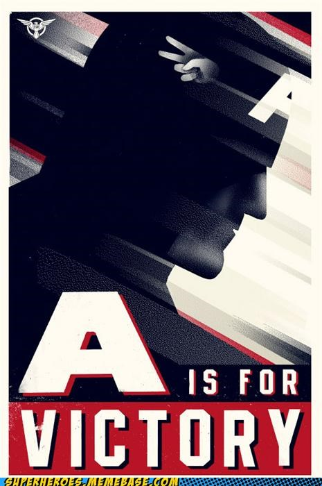 Awesome Art captain america Movie peace propaganda - 4986403584