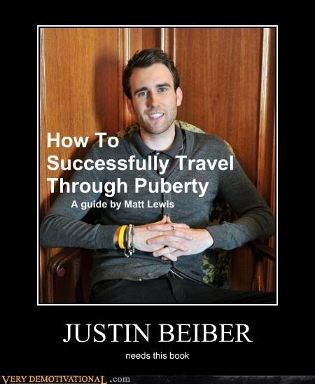 book hilarious justin bieber puberty - 4986557440