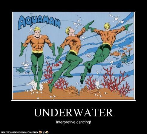 aquaman interpretive dancing olympics Super-Lols - 4986687744