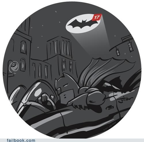 Bat signal batman comic image messages