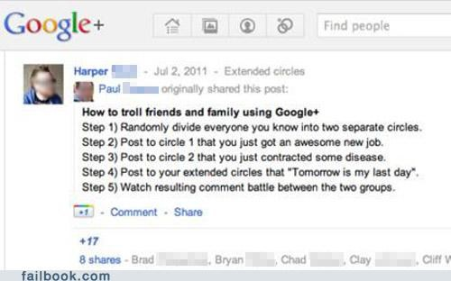 A Failbook Guide to Trolling google How To troll - 4986703104