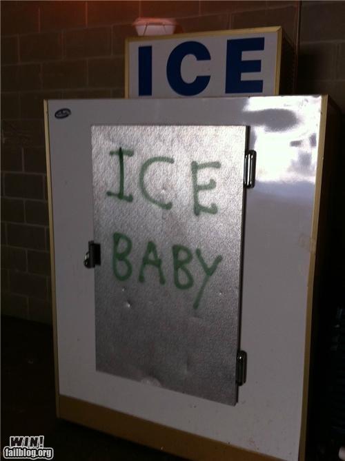 clever graffiti hacked irl ice Vanilla Ice - 4986724352