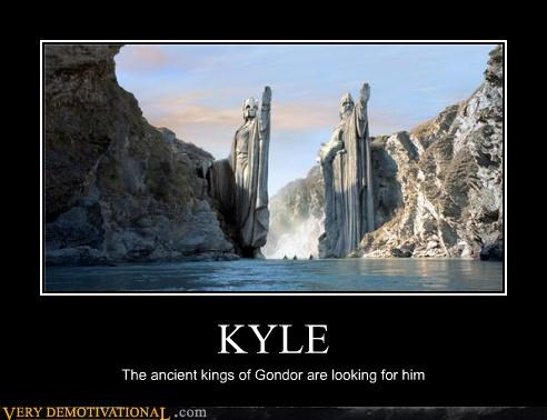 Gondor,hilarious,kyle,Lord of the Rings,Movie