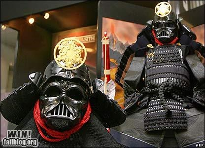 darth vadar,nerdgasm,shogun,star wars,statue